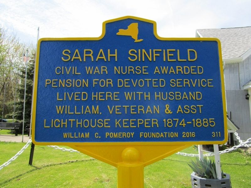 Sarah Sinfield Marker image. Click for full size.
