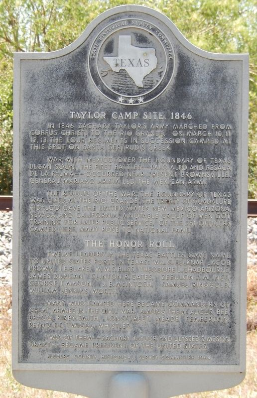 Taylor Camp Site, 1846 Marker image. Click for full size.