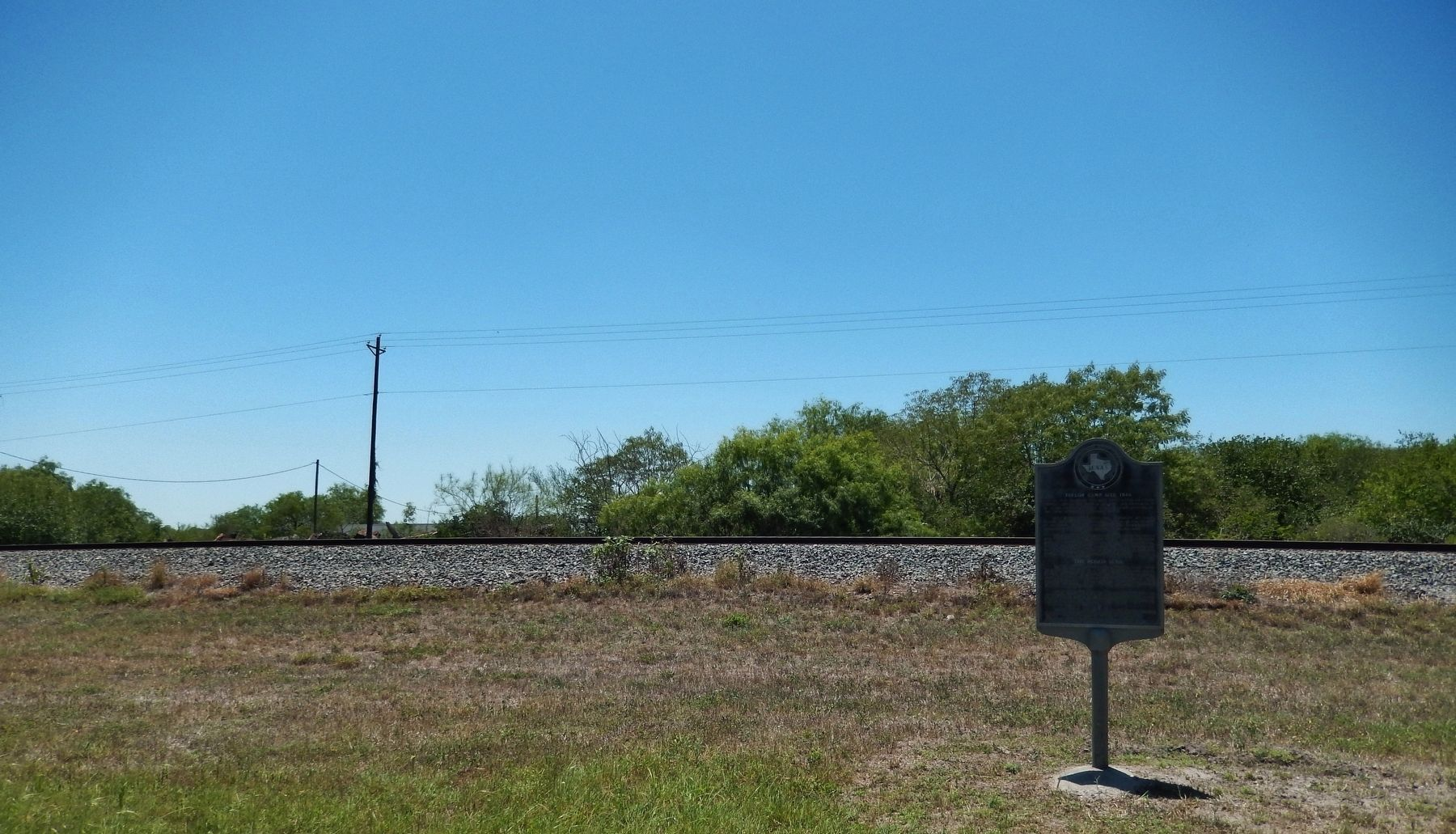 Taylor Camp Site, 1846 Marker (<i>wide view</i>) image. Click for full size.