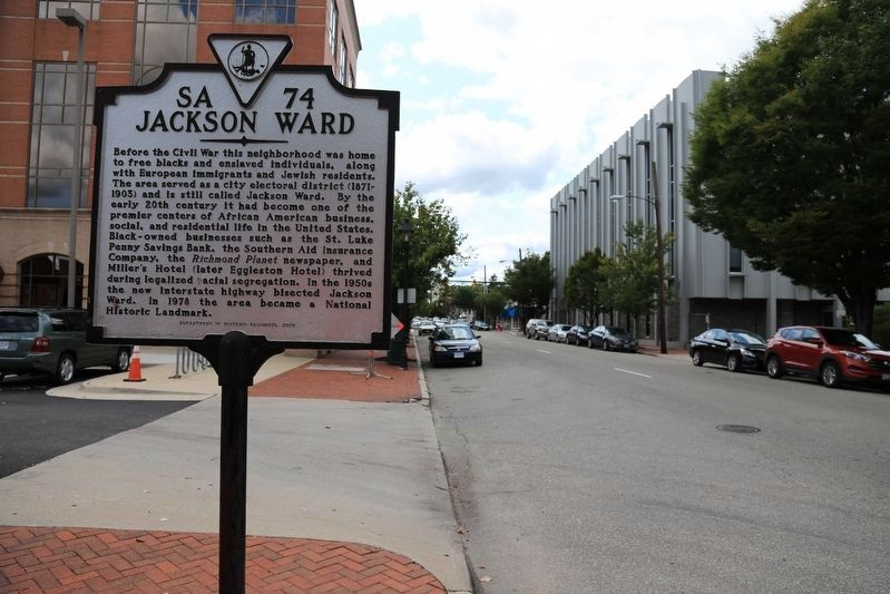 Jackson Ward Marker image. Click for full size.