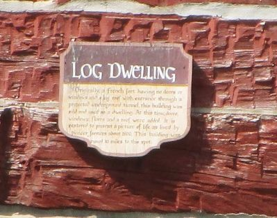 Log Dwelling Marker image. Click for full size.