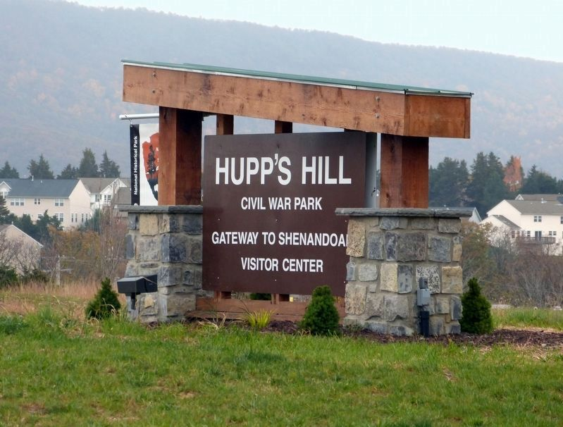 Hupp&#39;s Hill Civil War Park<br>Gateway to Shenandoah image. Click for full size.