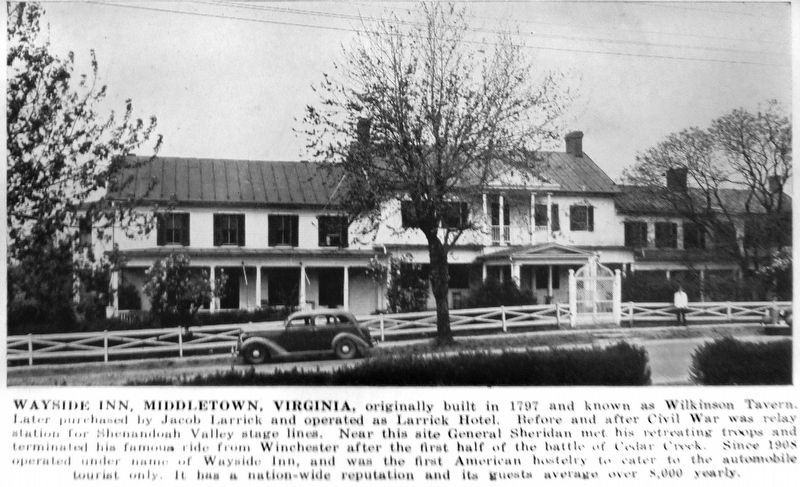 Wayside Inn, Middletown, Virginia image. Click for full size.