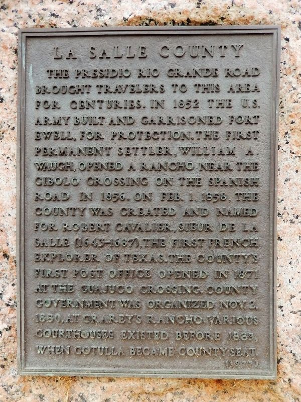 La Salle County Marker image. Click for full size.