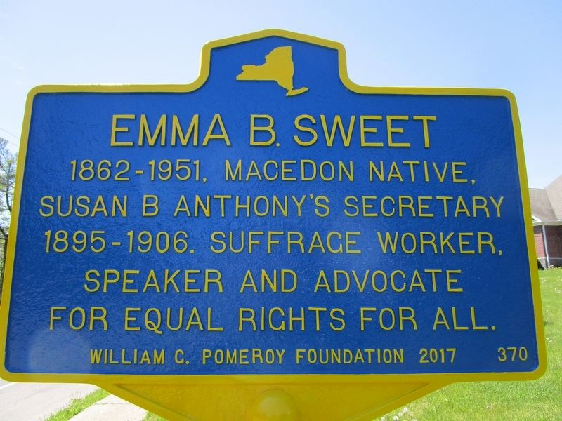 Emma B. Sweet Marker image. Click for full size.