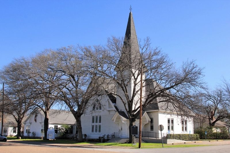 Lorena United Methodist Church image. Click for full size.