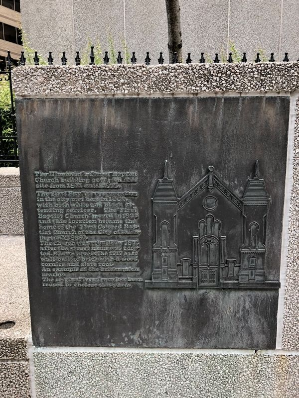 Nineteenth Street Baptist Church Marker image. Click for full size.