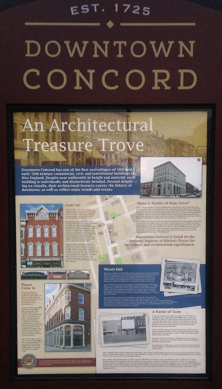 An Architectural Treasure Trove Marker image. Click for full size.