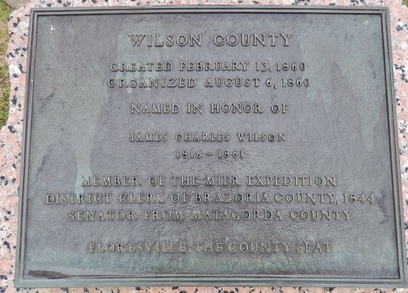 Wilson County Marker image. Click for full size.
