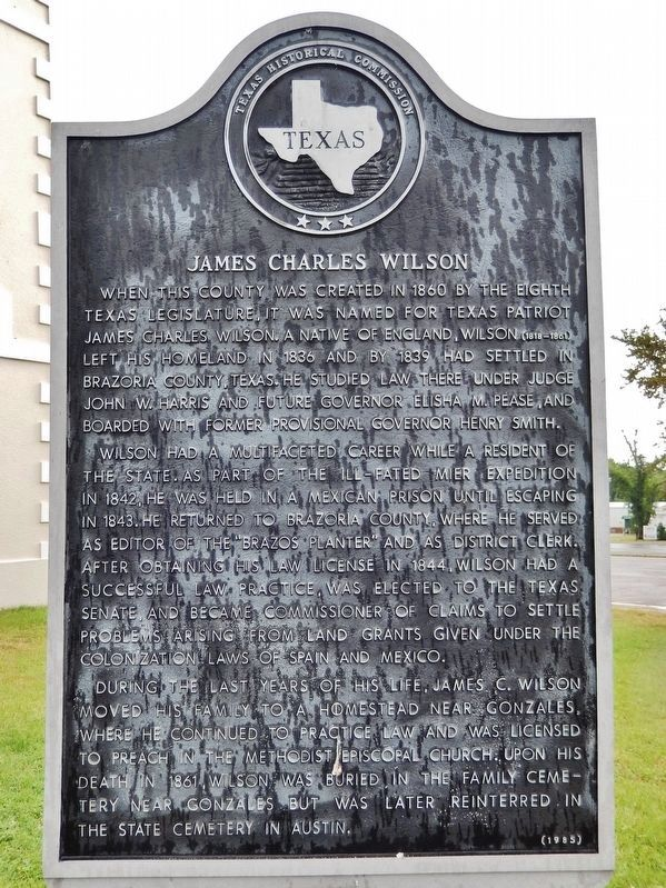 James Charles Wilson Marker image. Click for full size.