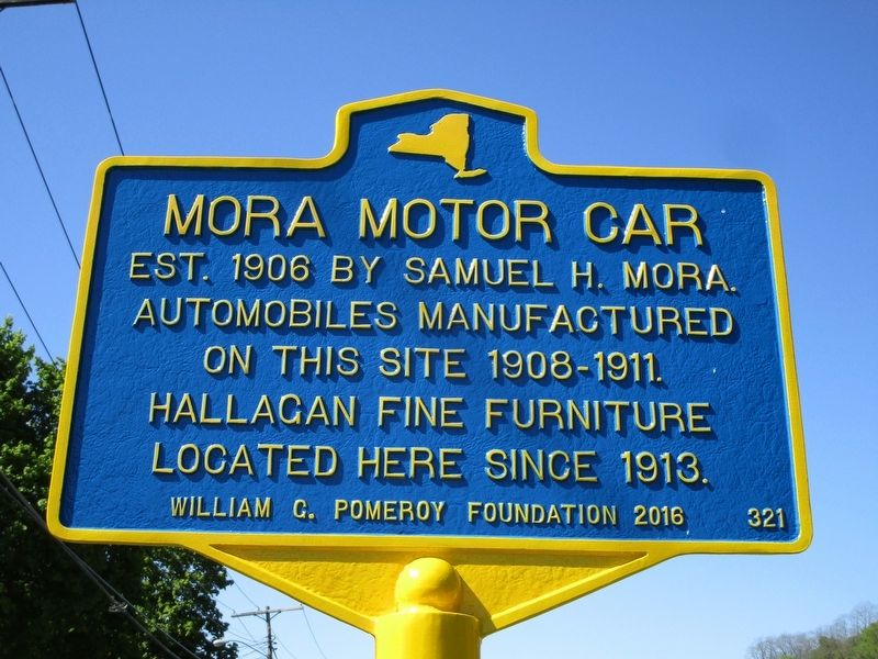 Mora Motor Car Marker image. Click for full size.
