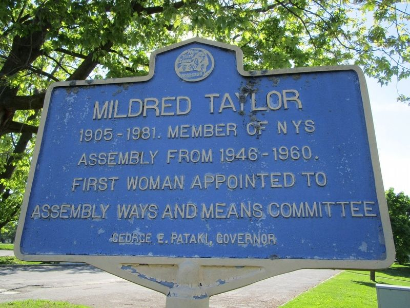 Mildred Taylor Marker image. Click for full size.