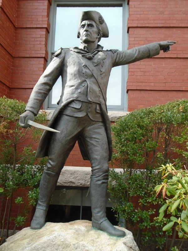 Brigadier General John Stark Statue image. Click for full size.