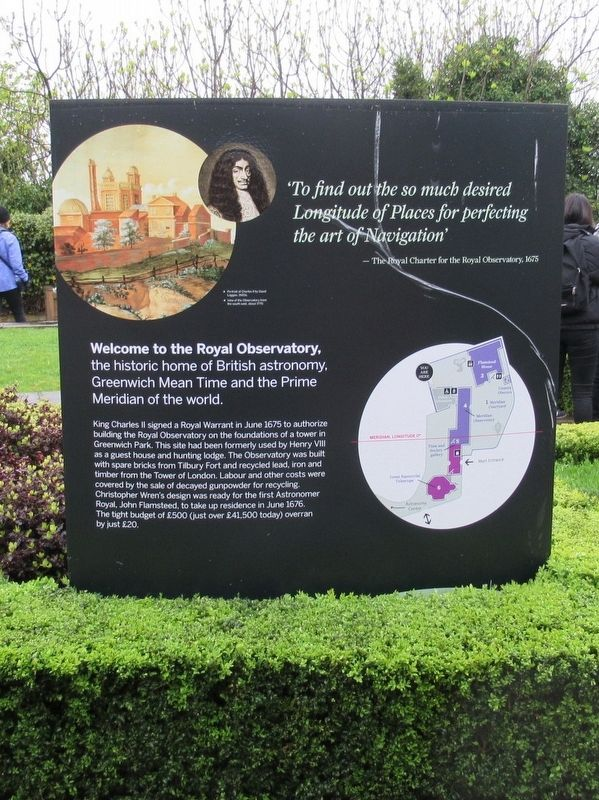 The Royal Observatory Marker image. Click for full size.