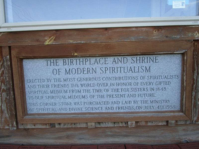 The Birthplace and Shrine of Modern Spiritualism image. Click for full size.