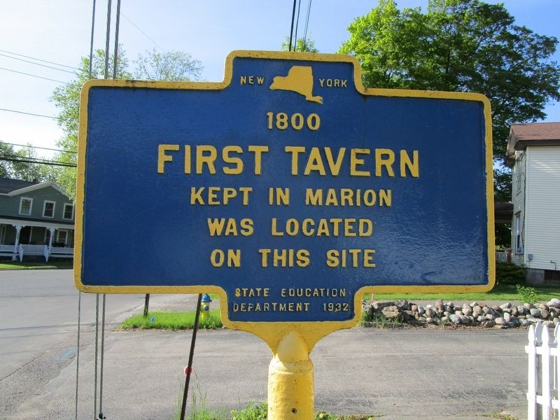 First Tavern Marker image. Click for full size.