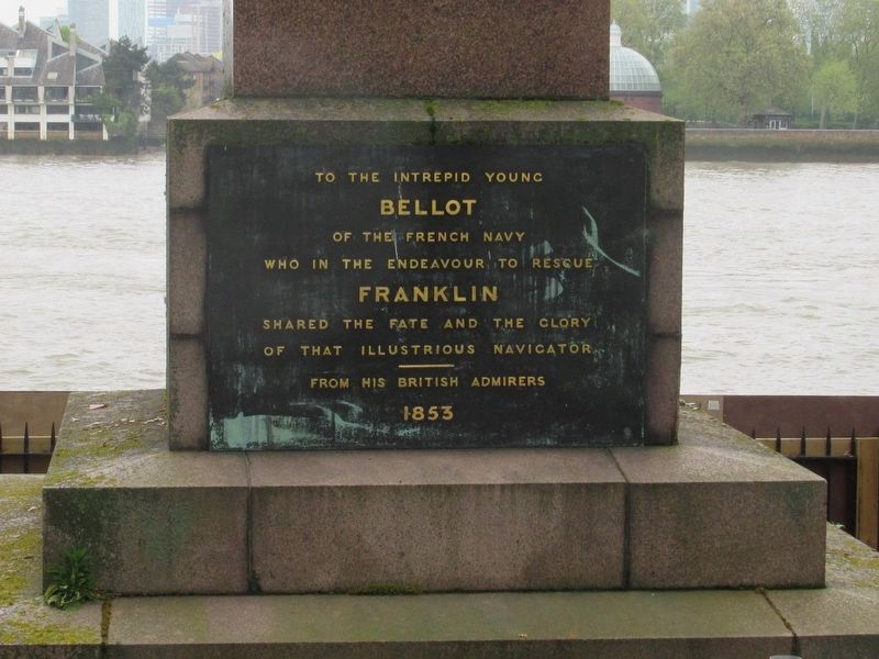 Bellot Memorial image. Click for full size.