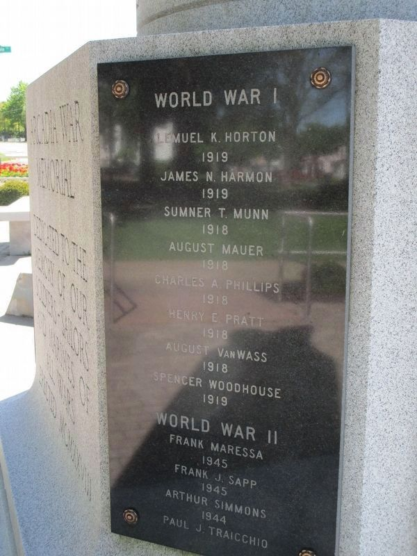 Arcadia War Memorial image. Click for full size.