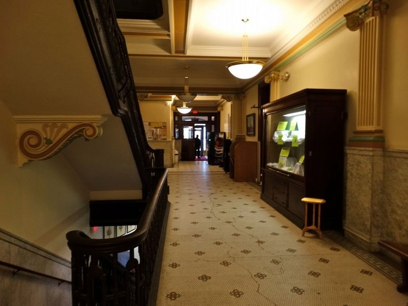 Inside the Huron County Court House image. Click for full size.