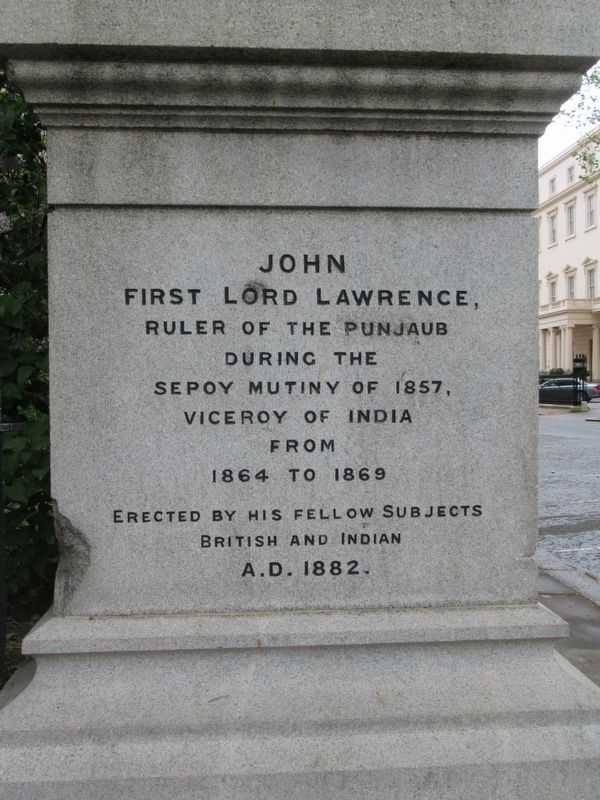 John First Lord Lawrence Marker image. Click for full size.