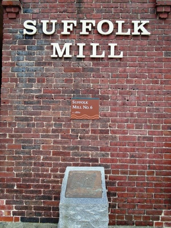 Suffolk Mill Marker image. Click for full size.