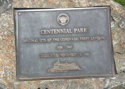 Centennial Park Marker image. Click for full size.