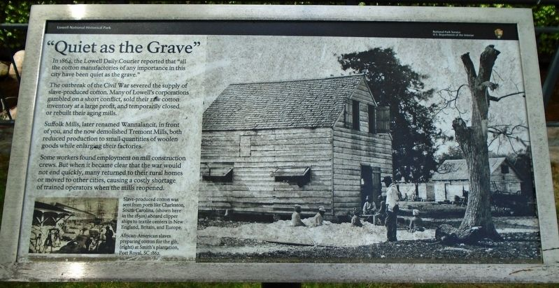"""Quiet as the Grave"" Marker image. Click for full size."