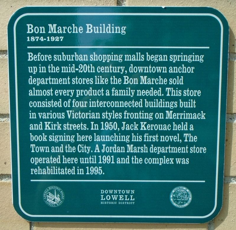 Bon Marche Building Marker image. Click for full size.