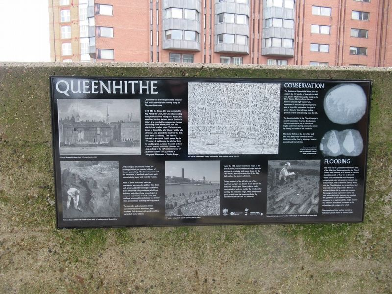 Queenhithe Marker image. Click for full size.