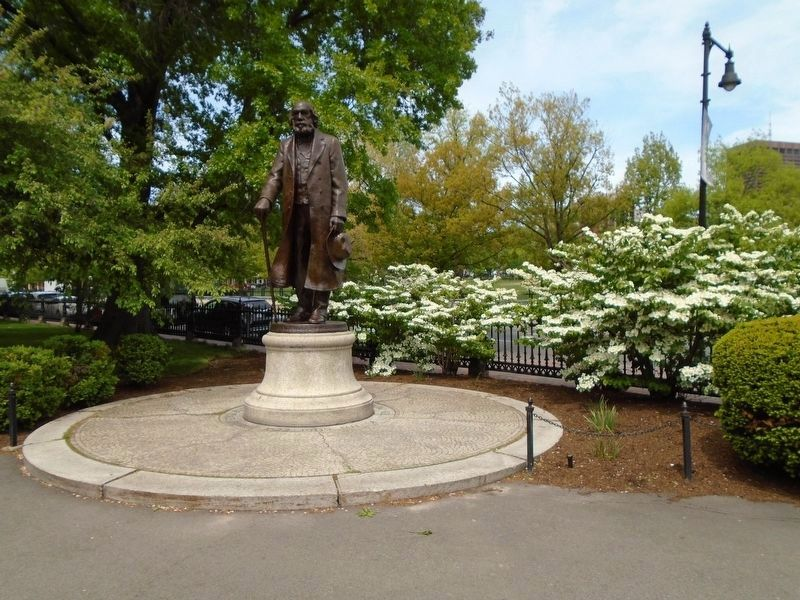 Edward Everett Hale Monument image. Click for full size.