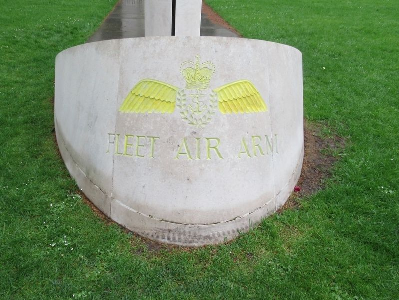 Fleet Air Arm Memorial image. Click for full size.
