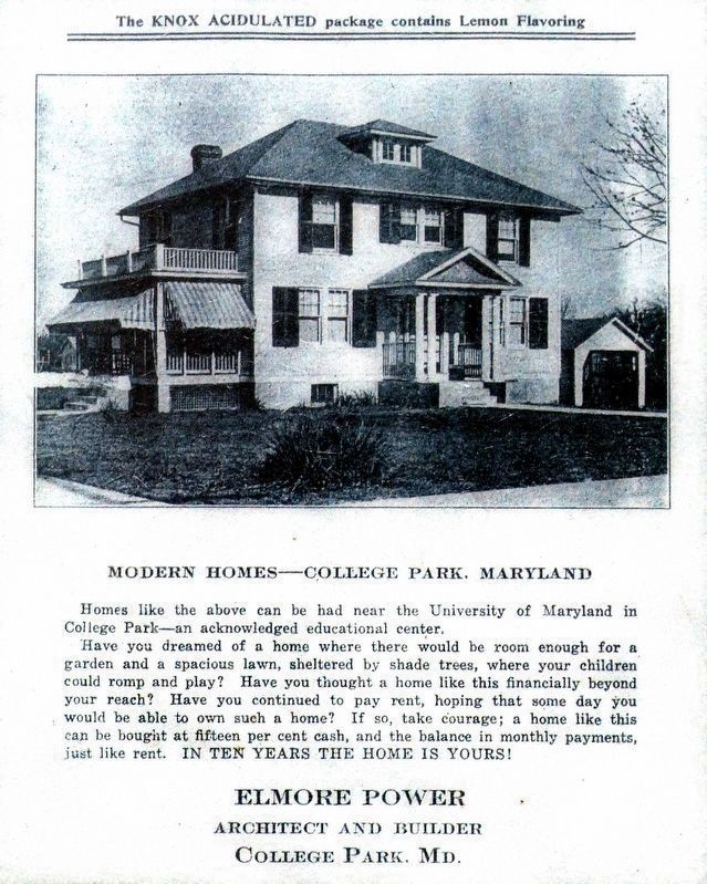 Modern Homes College Park Maryland image. Click for full size.