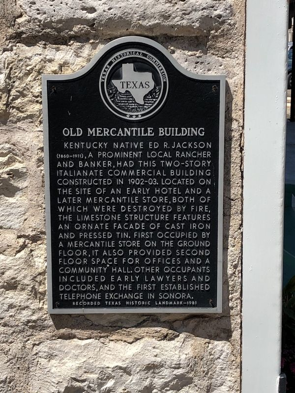 Old Mercantile Building Marker image. Click for full size.