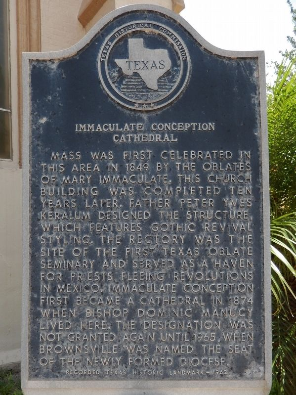 Immaculate Conception Cathedral Marker image. Click for full size.