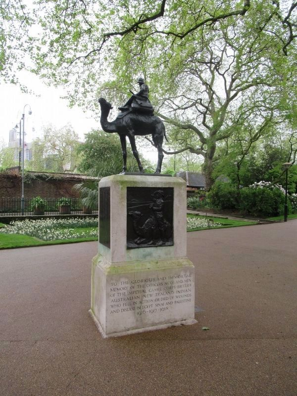 Imperial Camel Corps Memorial image. Click for full size.