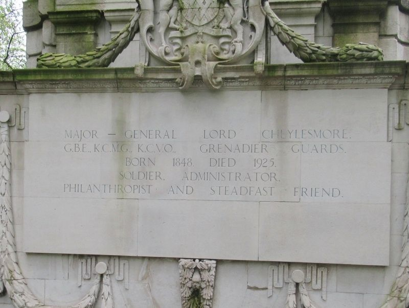 Lord Cheylesmore Memorial image. Click for full size.