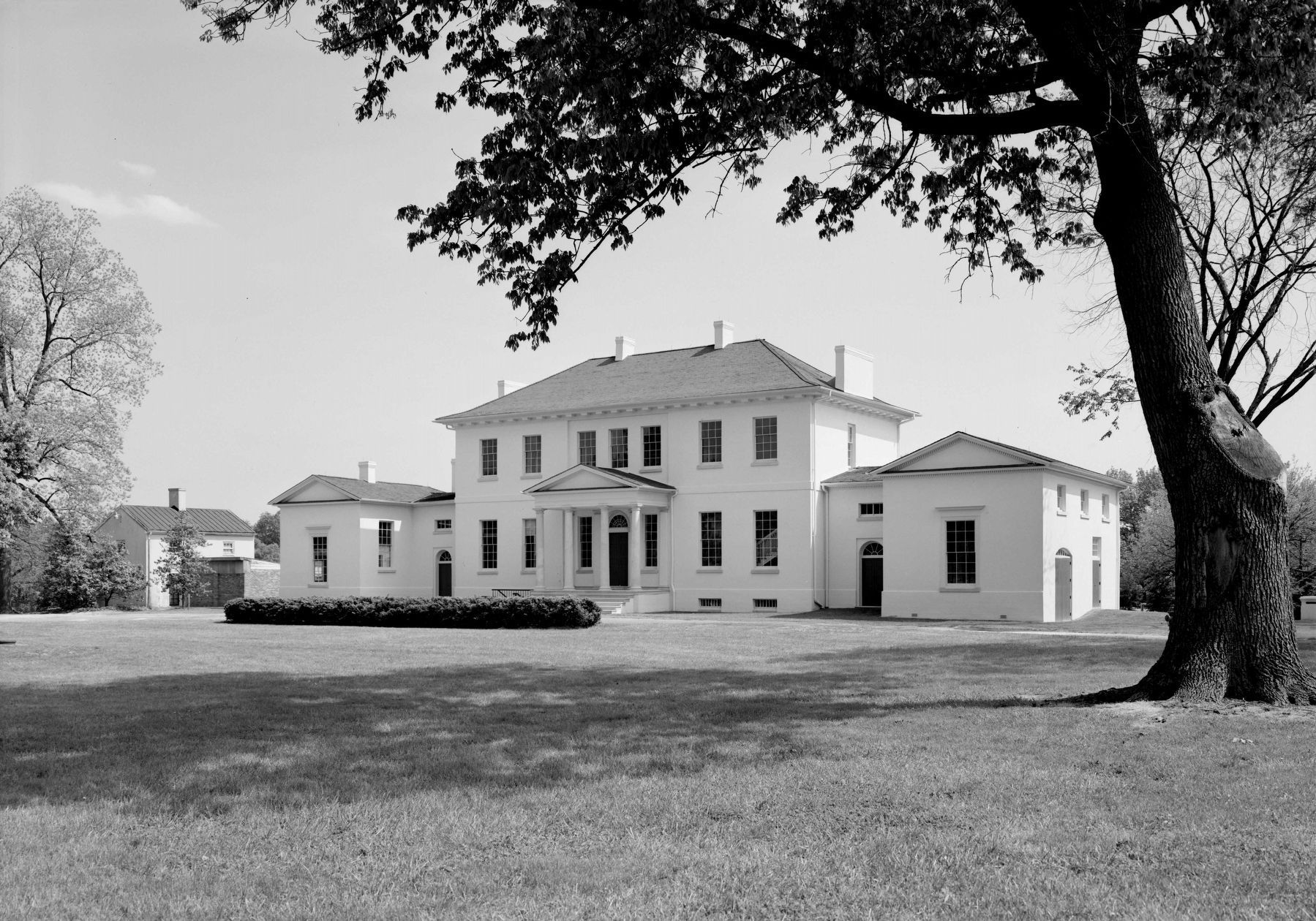 Riversdale Plantation, circa 1933 image. Click for full size.