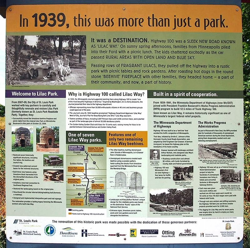 Lilac Park marker image. Click for full size.