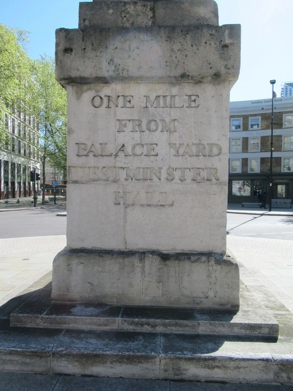 One Mile from London Bridge Marker image. Click for full size.