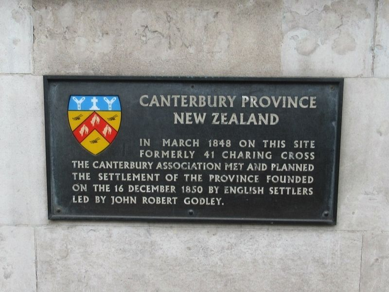 Canterbury Province New Zealand Marker image. Click for full size.