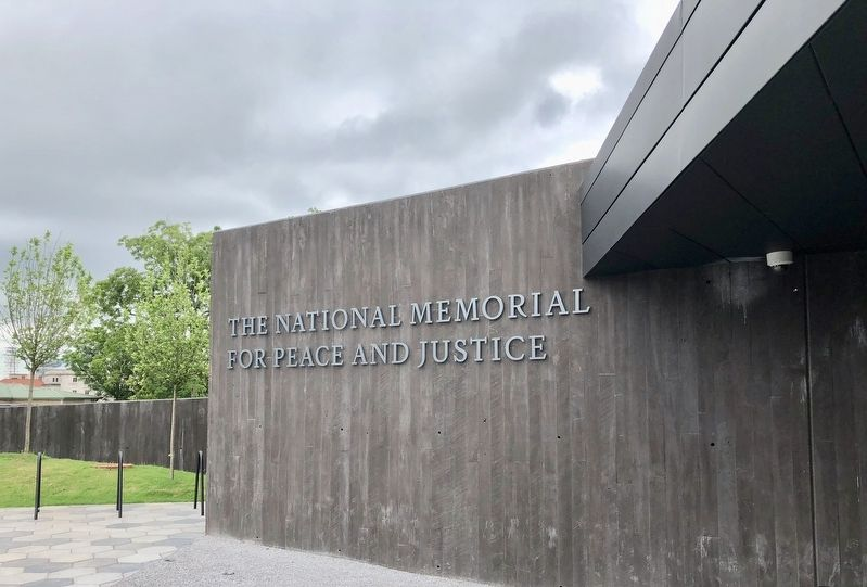 Marker located at the National Memorial for Peace and Justice. image. Click for full size.