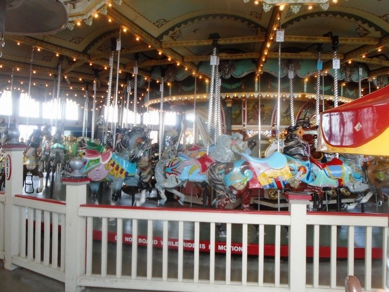 Paragon Park Carousel image. Click for full size.