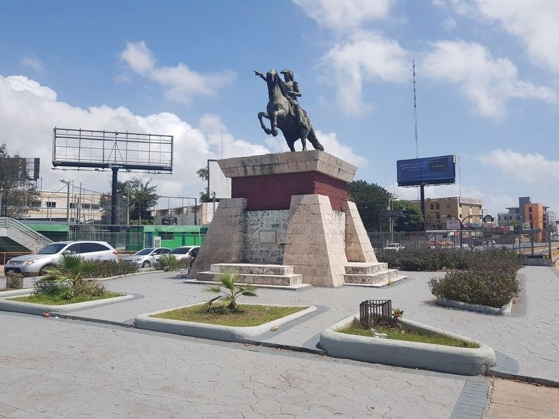 José de San Martín Marker and Monument image. Click for full size.