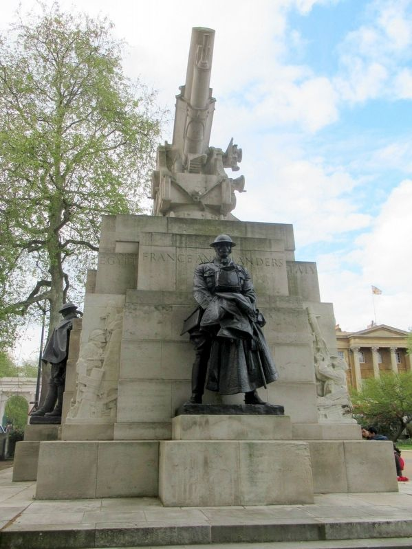 Royal Artillery Memorial image. Click for full size.