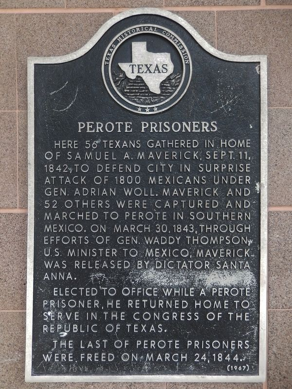 Perote Prisoners Marker image. Click for full size.