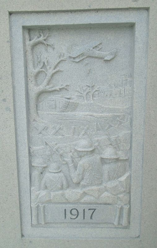 War Memorial 1917 Relief image. Click for full size.
