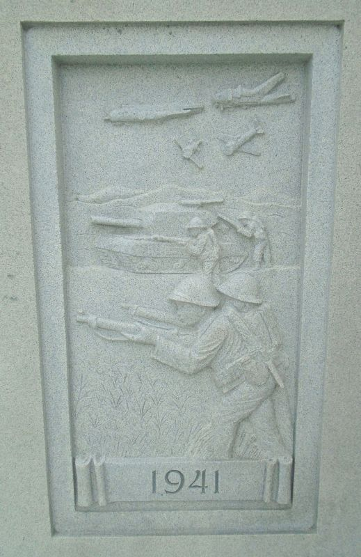 War Memorial 1941 Relief image. Click for full size.