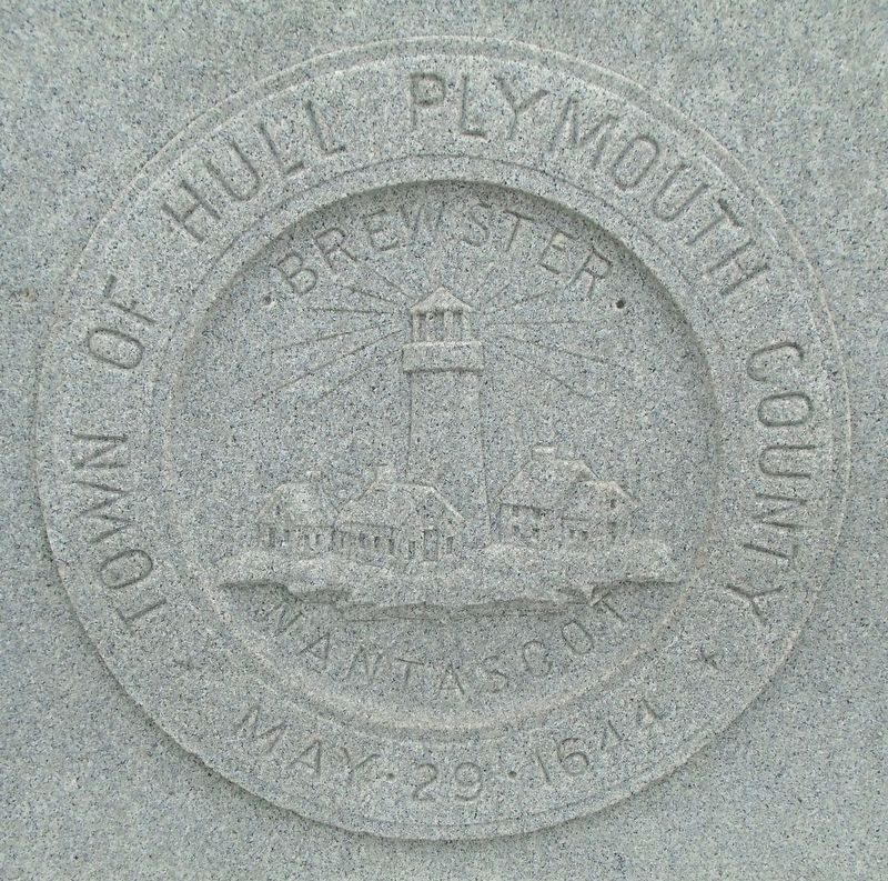 War Memorial Town of Hull Seal image. Click for full size.
