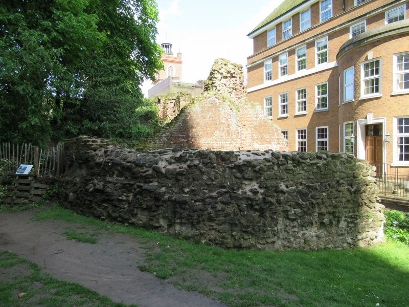 London City Wall - Bastion 13 Marker image. Click for full size.