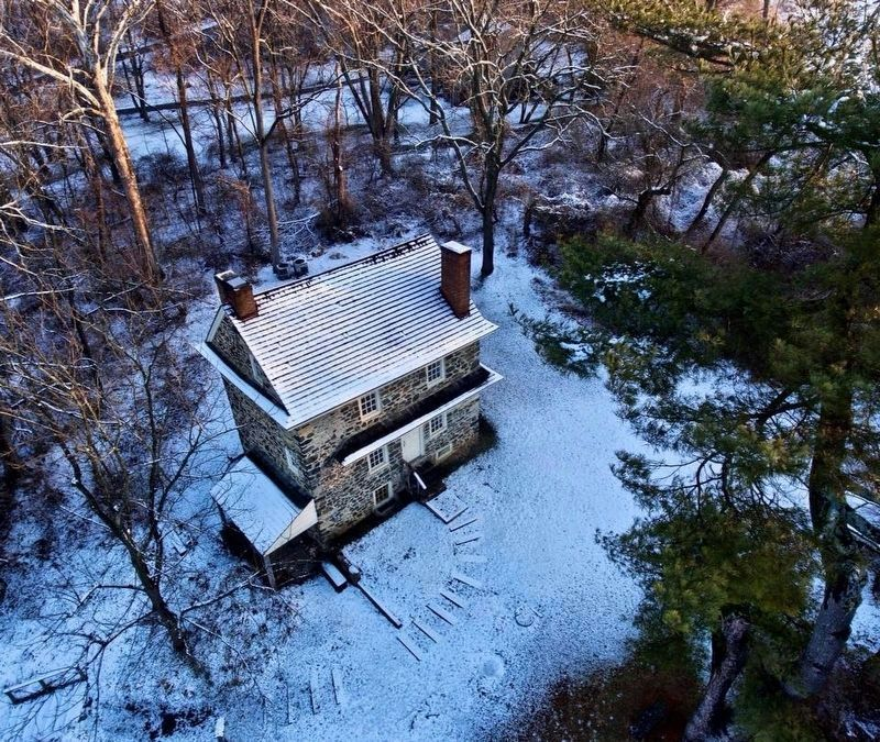 John Chad's House via Drone image. Click for full size.